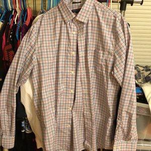 Banana Republic slim fit men's shirt; size L